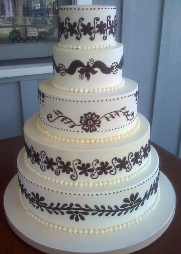henna wedding cake | by robynlovescake