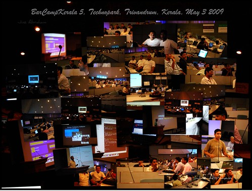 trivandrum bck jins technopark d60 barcamp barcampkerala bck5 barcampkerala5