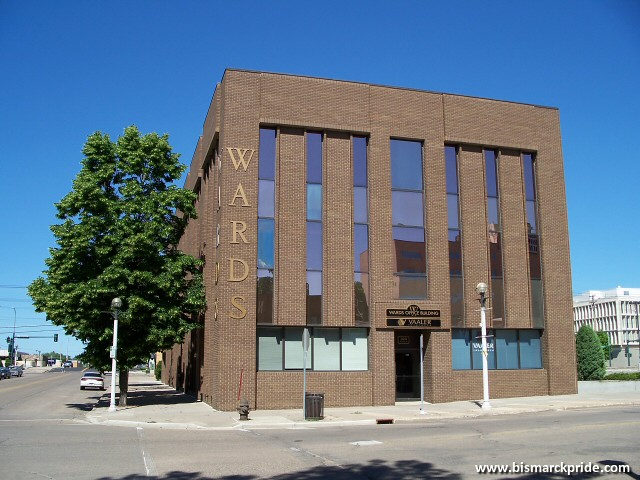 Former Montgomery Wards Store Building Downtown Bismarck
