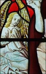angel at the resurrection