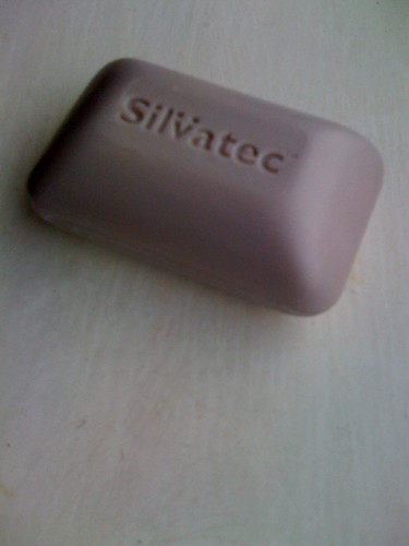 It's an umlaut! Over a V!! On a bar of soap!!! | by jqgill