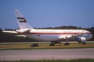 36cl - United Arab Emirates Airbus A300B4-620; A6-SHZ@ZRH;09.08.1998