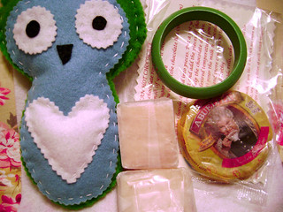 Owlie Swap Package From Sara