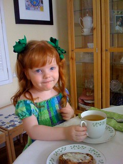 St. Patrick's Day tea party! | by PrincessKaryn