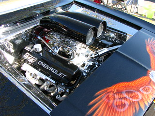 572 chevrolet crate engine | transplanted mountaineer | Flickr
