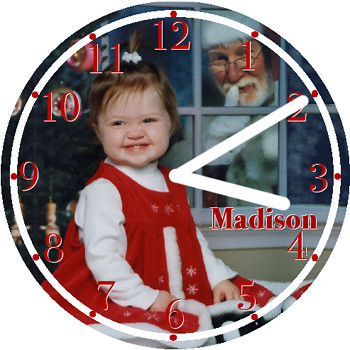 Madison Child Clock | by customclockface