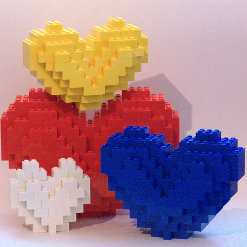LEGO Hearts | by Bill Ward's Brickpile