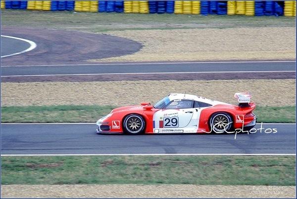 24 Heures du Mans 1997 Porsche 911 GT1