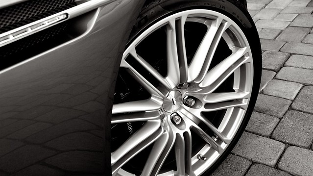 Aston Martin DBS detail