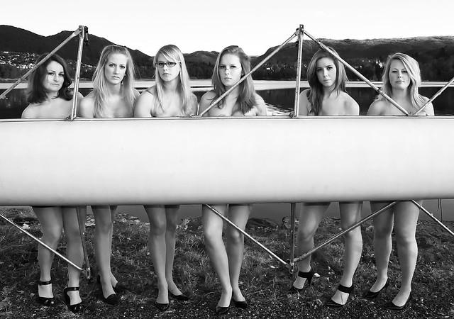 2017 nude calendar 3: Warwick female Rowers photoshoot