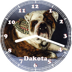 Dakota Pet Clock | by customclockface