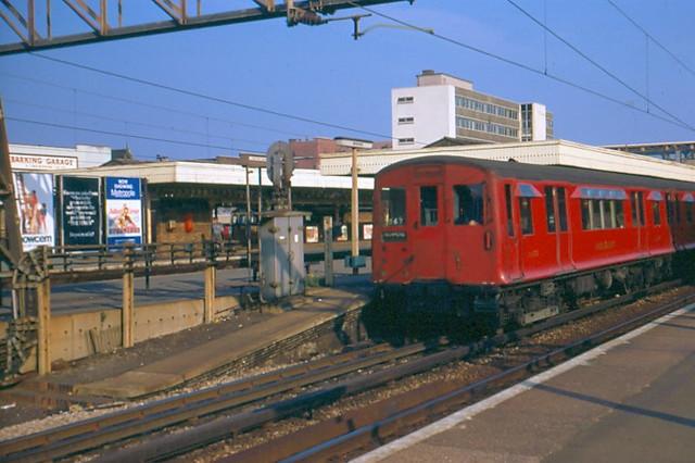 Barking station in 1970