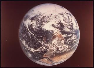 Earth, as Seen by Astronauts Eugene Cernan, Ronald Evans and Harrison Schmitt from Apollo 17