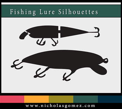 Download Fishing Lures Free Svg You Can Find This File And Many Oth Flickr