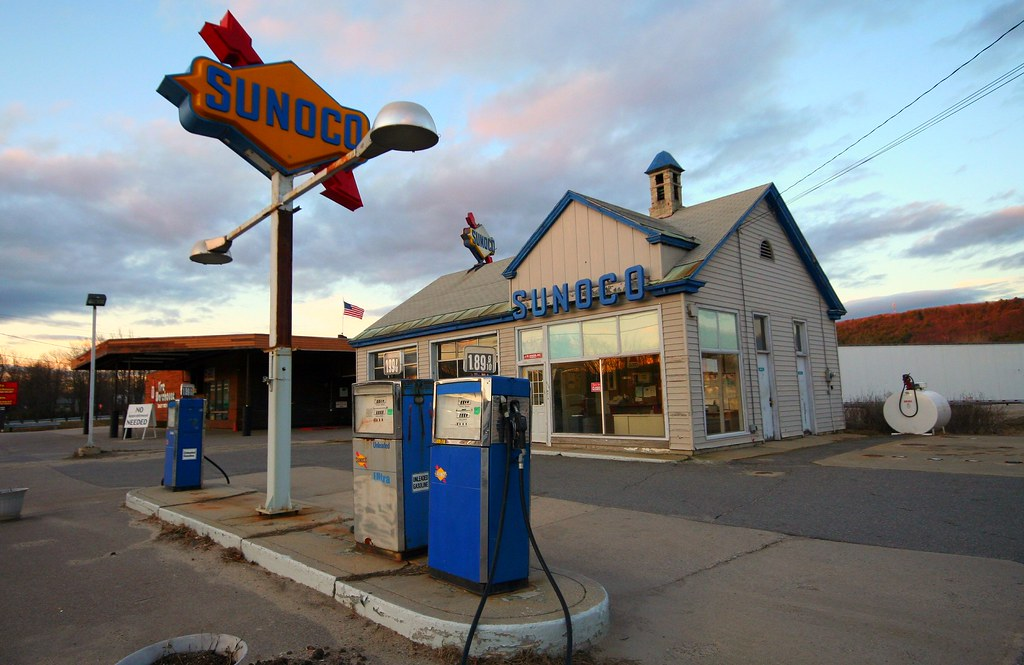 Sunoco Gas Station Near Me >> Sunoco Gas Station Keene Nh A 1960s Era Sunoco Gas Stati Flickr