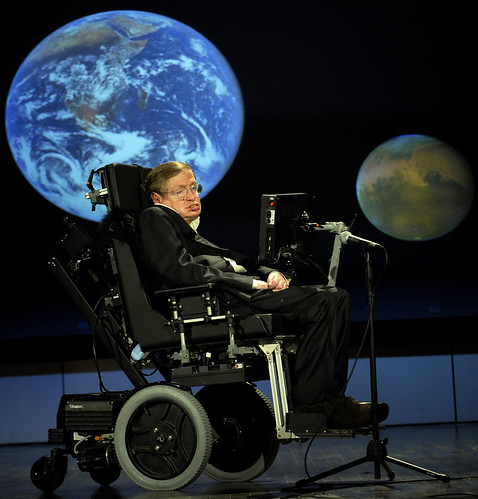 Stephen Hawking NASA 50th (200804210002HQ) | by NASA HQ PHOTO