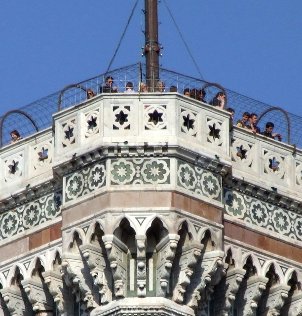 Terrazza Del Campanile Di Giotto Firenze On Top Of The B