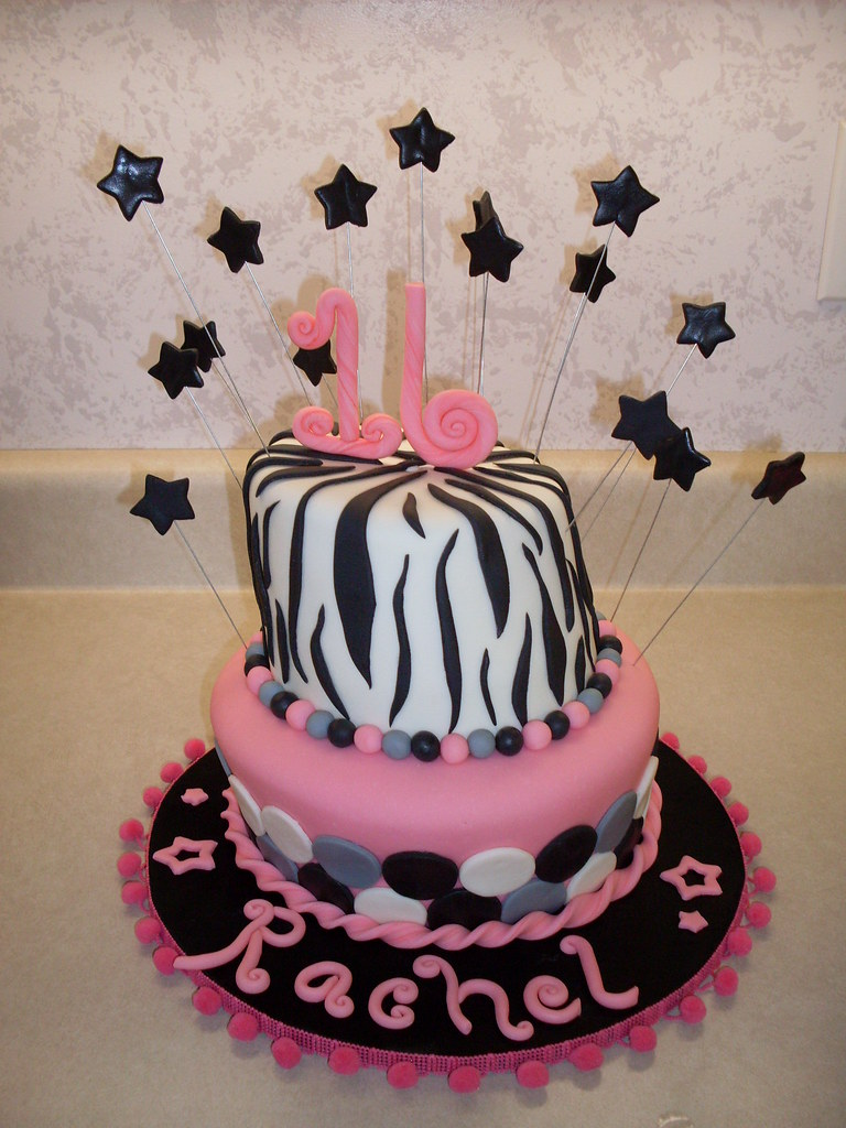 Enjoyable Happy 16Th Birthday Cake Chocolate Cake With Buttercream A Flickr Funny Birthday Cards Online Ioscodamsfinfo
