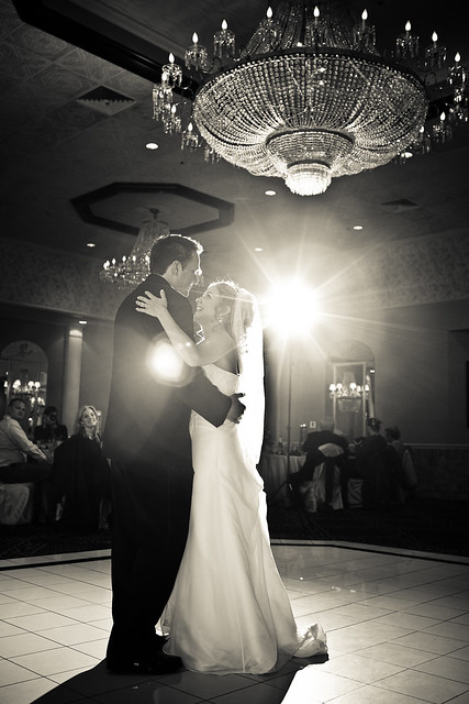 brian and tania, first dance
