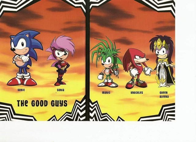 Sonic UnderGround The Good Guys | Chris Oakley | Flickr