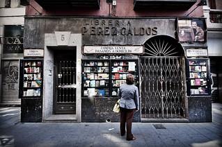 Librería Pérez Galdós