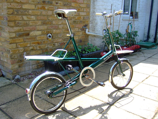 Green series 2 Raleigh Nottingham made Moulton delux from late 1965