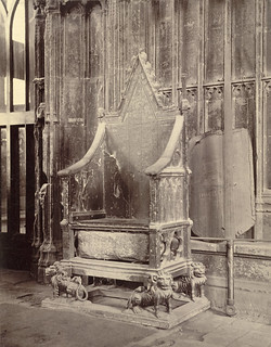Coronation Chair with Stone of Scone, Westminster Abbey | by Cornell University Library