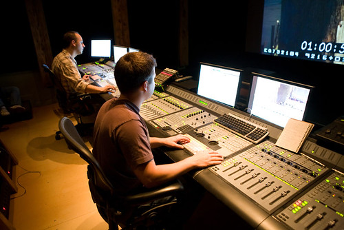 Sound Design for Visual Media and Film Production students at dbc sound | by vancouverfilmschool