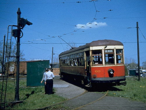Rochester Subway 60 at East Ave. Loop, 1956 | by Rochester & Genesee Valley Railroad Museum