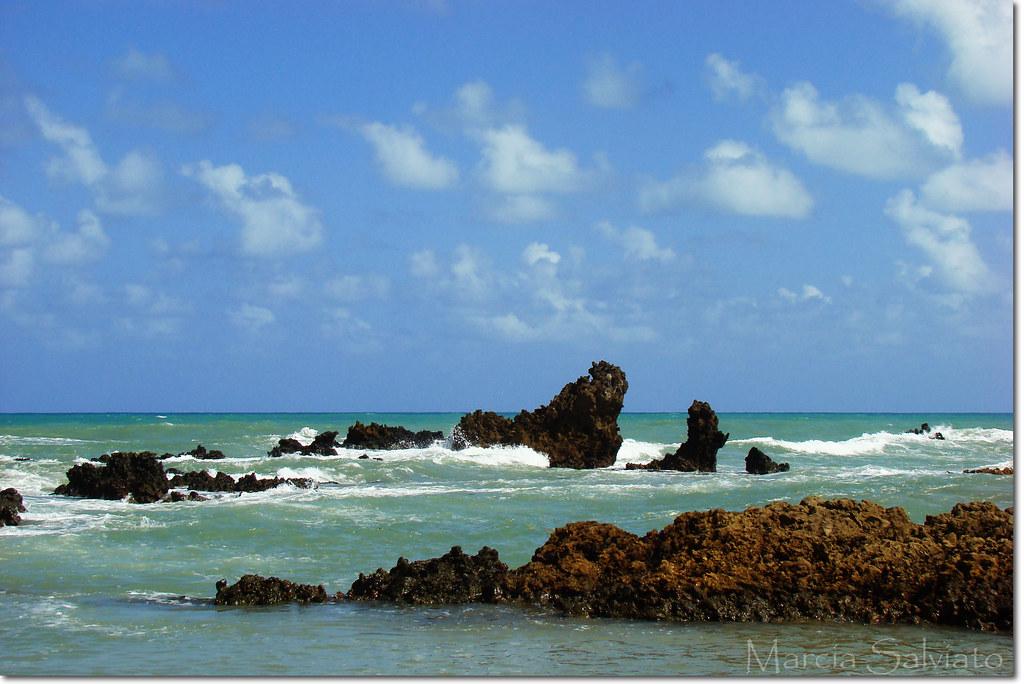 Tambaba Beach - Conde - PB - BRAZIL Praia de Tambaba - Co