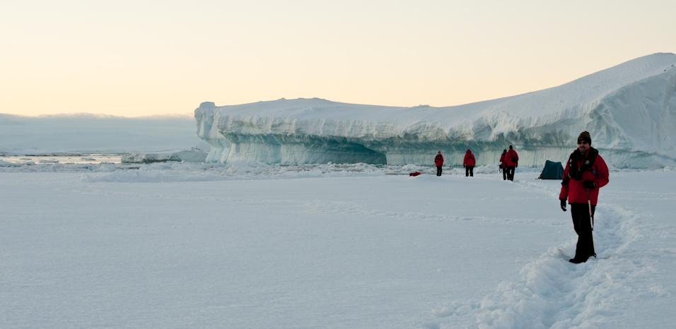 Ice Floe Hiking