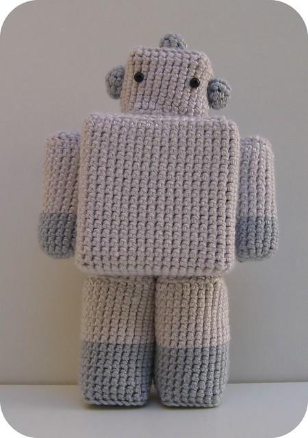 Cute crochet robot amigurumi pattern | Crochet patterns amigurumi ... | 639x450