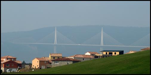 bridge from Millau