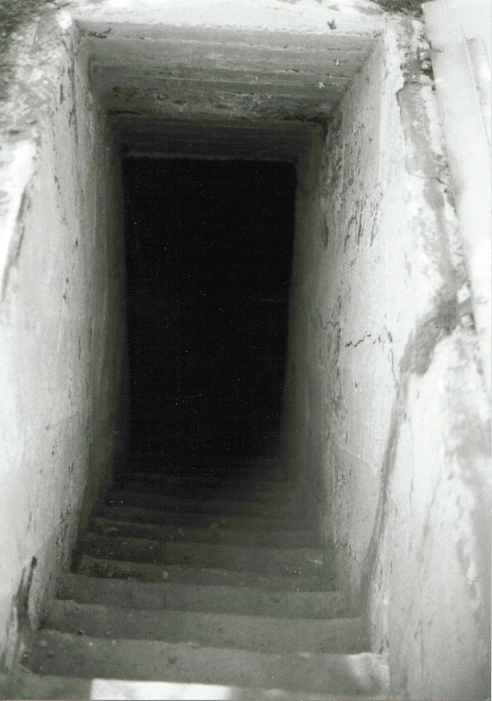 View Looking Down Into The Cellar Coffin Of The Death Pit