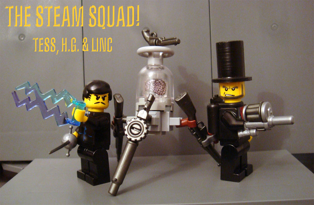 The Steam Squad! | Tess, H G  and Linc! The Steam Squad! ( T