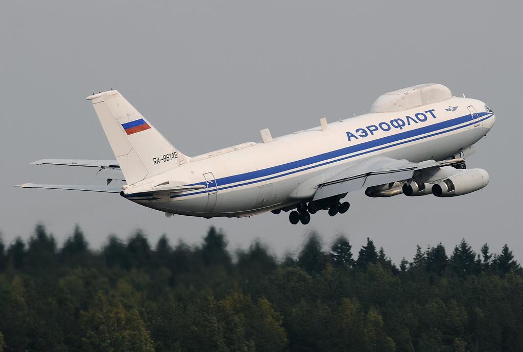 RA-86146 Russia - Air Force Ilyushin Il-86VKP
