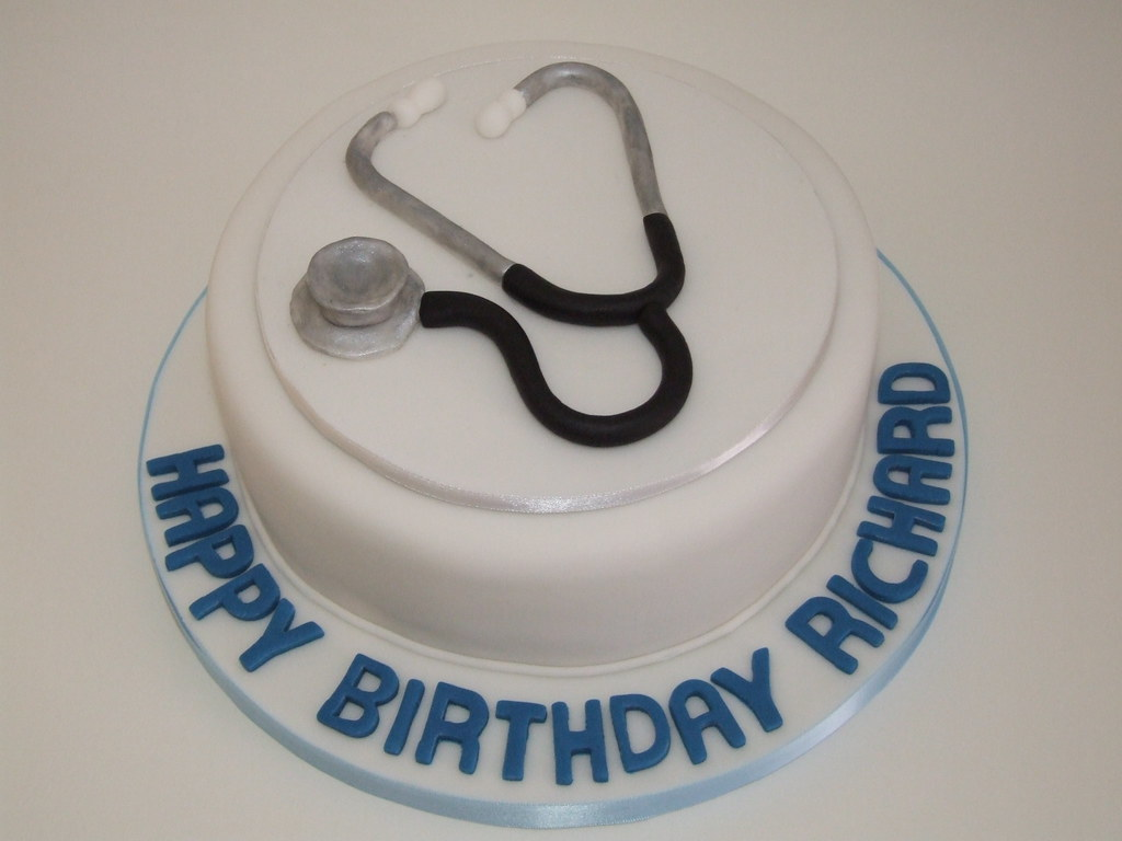 Stethoscope Cake The Alternative Top For The Naughty Nurse Flickr