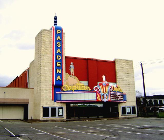 ENDANGERED! - Capitan Theater, 1001 Shaw Ave., Pasadena, Texas 022109