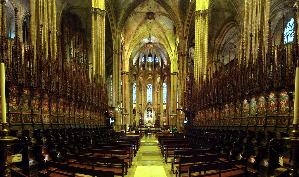Cathedral Pews by Swamibu