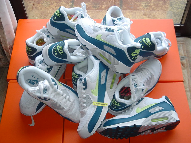 the latest c89b7 1d93c Nike Air Max 90 'Spruce' JD Sports Exclusive Retro. | Flickr