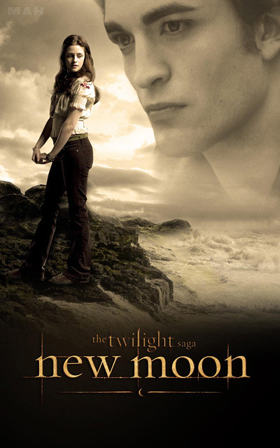 TWILIGHT NEW MOON MOVIE POSTER Bella HOT NEW