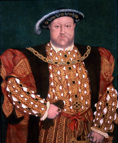 Portrait of King Henry VIII 1540c. | by lisby1