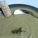 Broccoli Soup with Garlic and Olive Oil