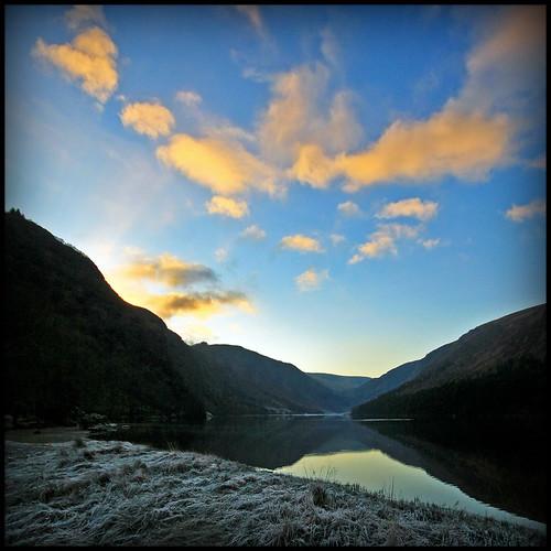 ireland sunset lake nature canon lago reflex tramonto natura glendalough soe tomita irlanda upperlake sigma1020 gleanndáloch eos40d marcopreti
