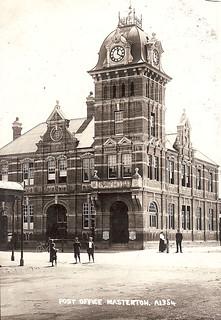 1912 Post Office Masterton