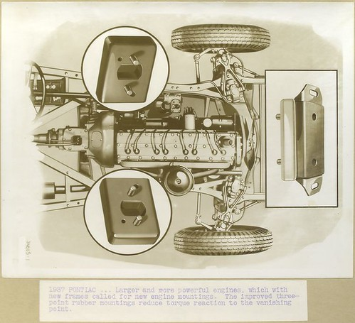 1937 Pontiac - larger and more powerful engines, which with ... | by New York Public Library