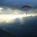 Volando parapente