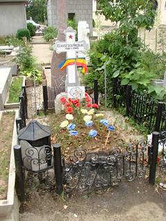 Grave of Nicolae Ceausescu - Ghencea Civil Cemetery - Bucharest - Romania