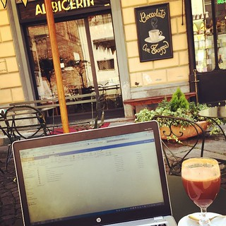 #WorkingRemotely from #Torino! This drink is called Bicerin and it is an amazing combination of #coffee, #chocolate, and milk! #remoteyear #travel #Italy | by cassandrautt