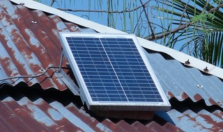 Solar Panel on Roof | by Helena Wright